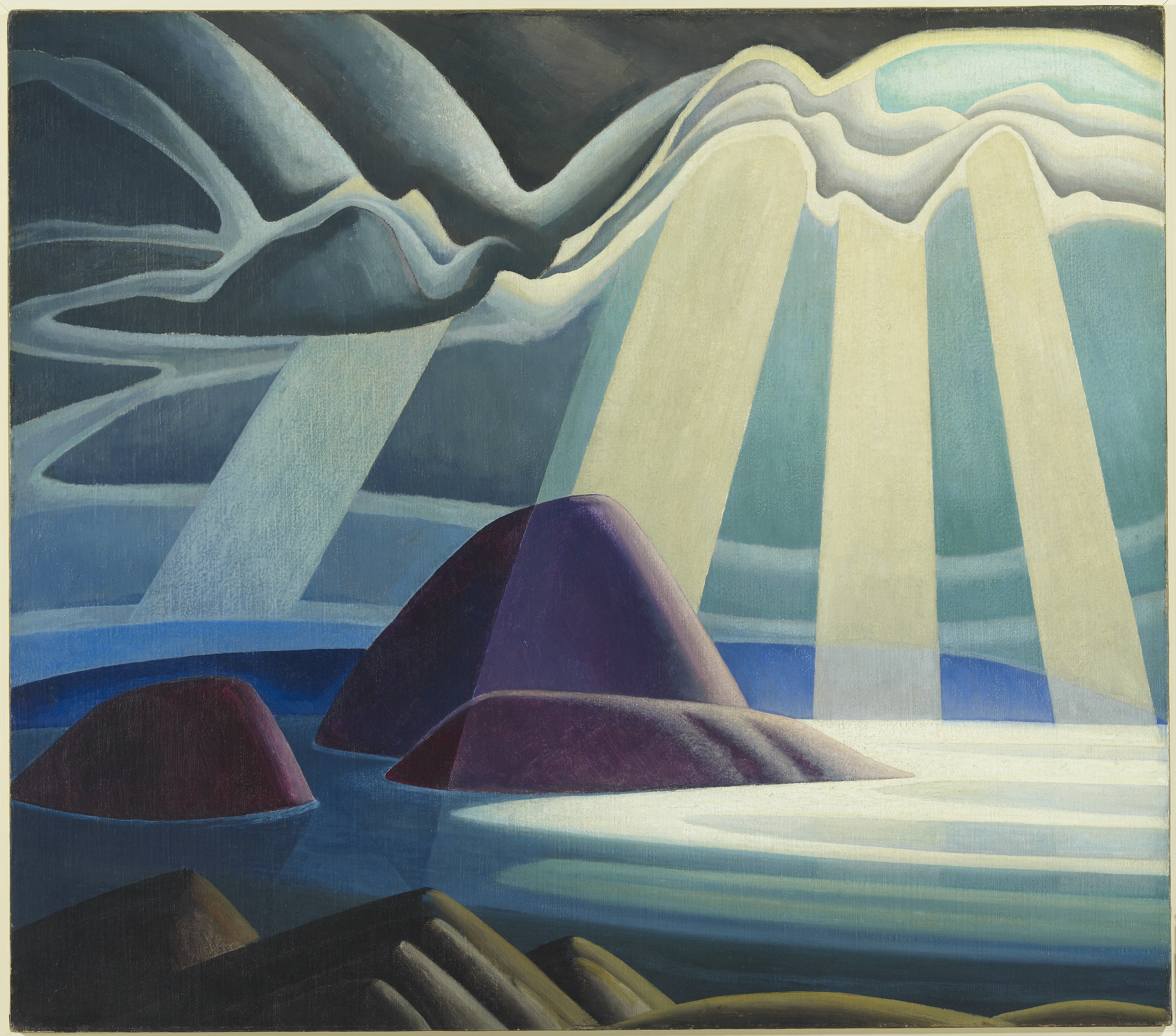 The Idea Of North The Paintings Of Lawren Harris