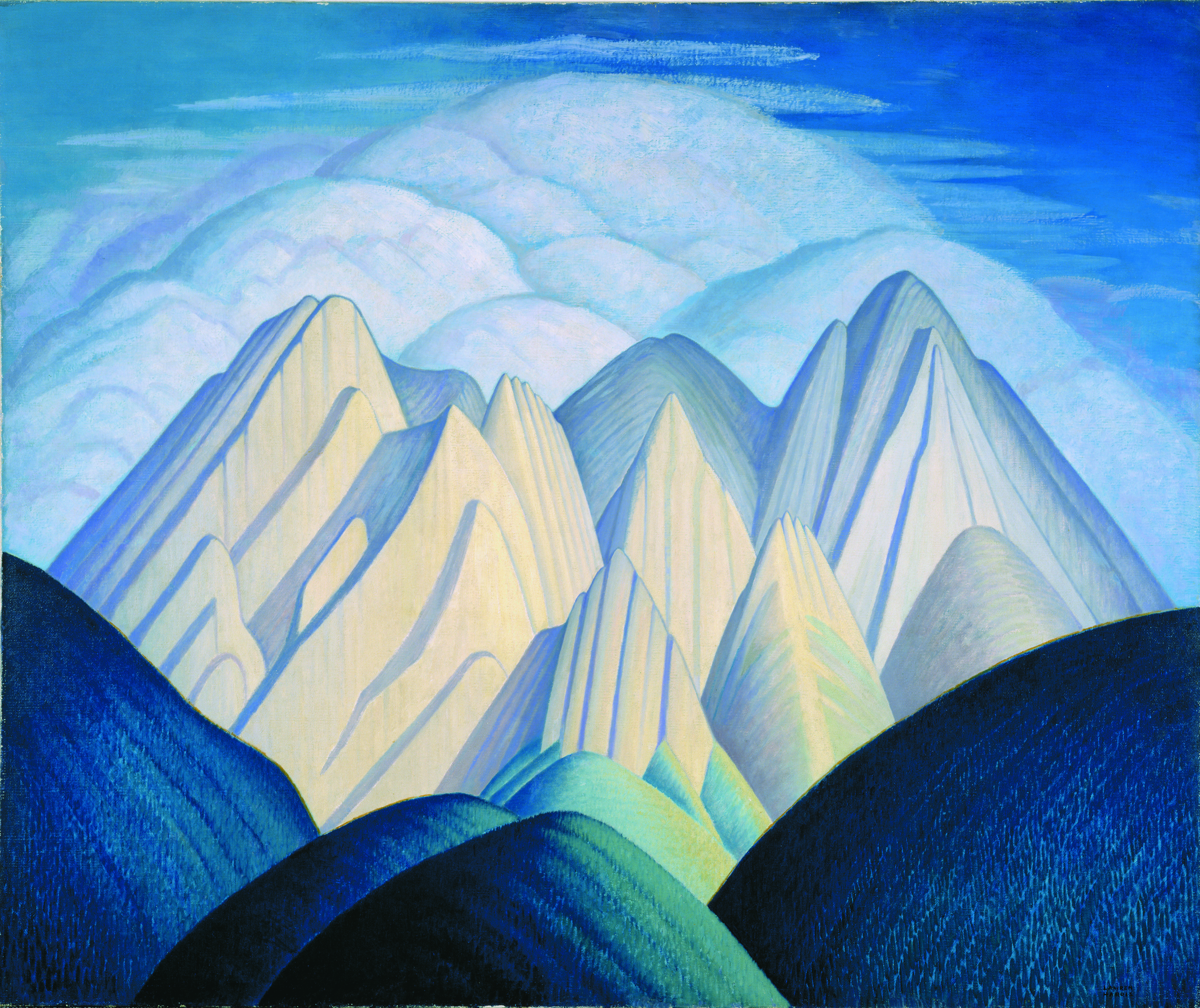 lawren harris the canadian artist The idea of north: the paintings of lawren harris is an exhibition of 73 harris paintings, co-curated by the comedian and art collector steve martin alongside the ago's andrew hunter and cynthia burlingham of the hammer museum in la it opened at the hammer last october and arrives at the ago this month.