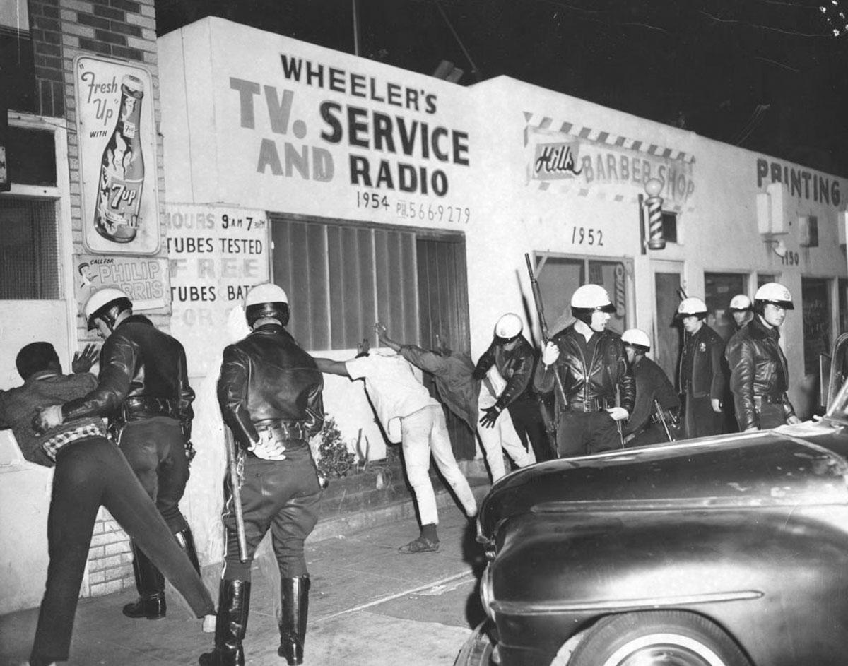 The Watts Rebellion 50 Years Later Hammer Museum