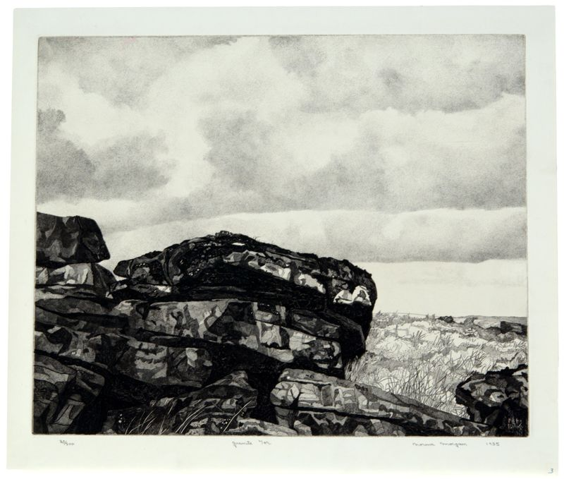 Norma Morgan, Granite Tor, 1954