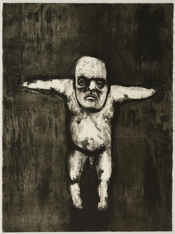 Aubrey Schwartz, Nude Man (VII), September - November 1960