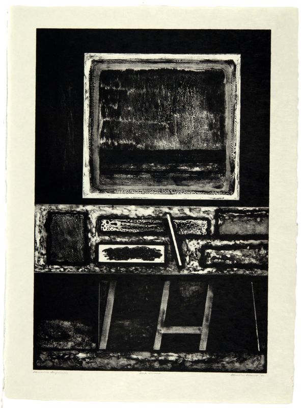 Clinton Adams, Dark Window, August 1-September 6, 1960
