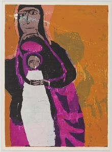 Corita Kent, black but beautiful, 1960