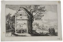 Abraham Bloemaert, Landscapes with Farmhouses #9, 1564-1651