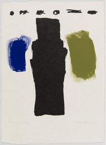 Emerson Woelffer, Untitled, July 26-September 13, 1961