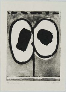 Emerson Woelffer, Untitled, July 27-September 21, 1961
