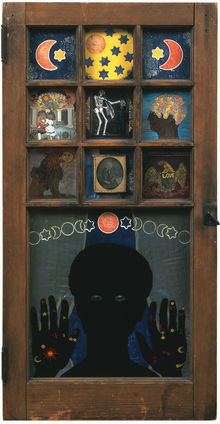 Black Girl's Window, by Betye Saar, 1969