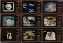 Robert Heinecken, Surrealism on TV, 1986