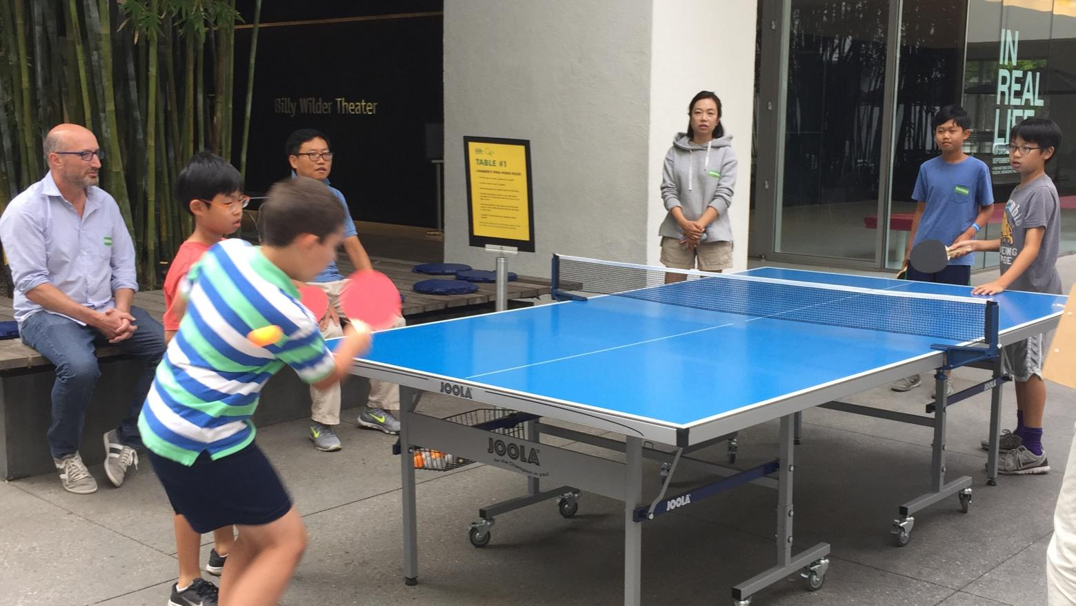 Ping-pong tournament