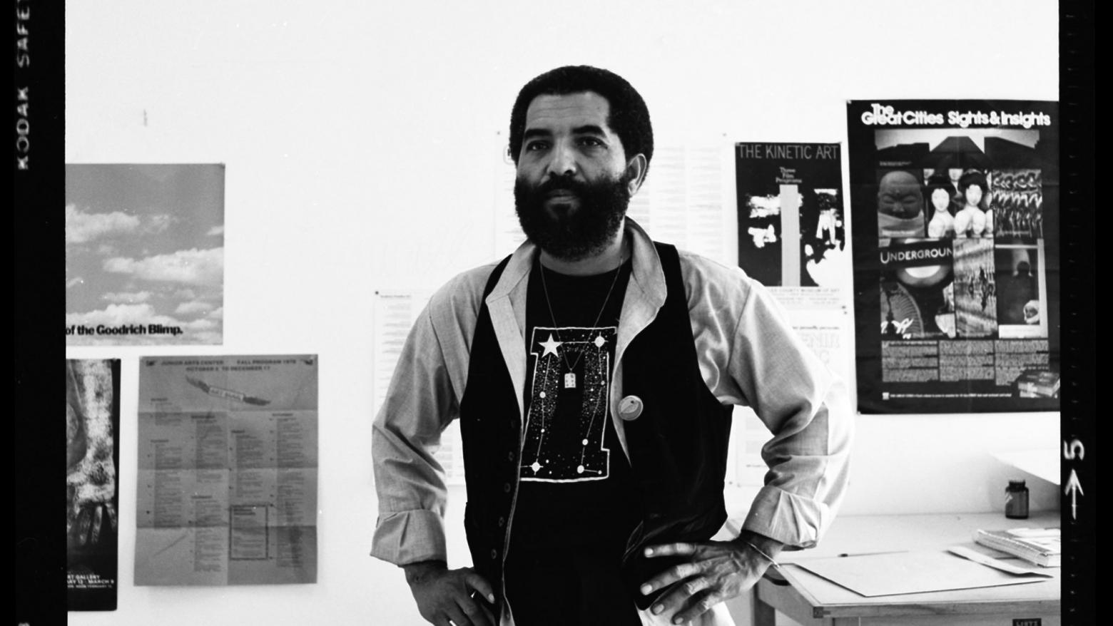 Dan Concholar in his studio