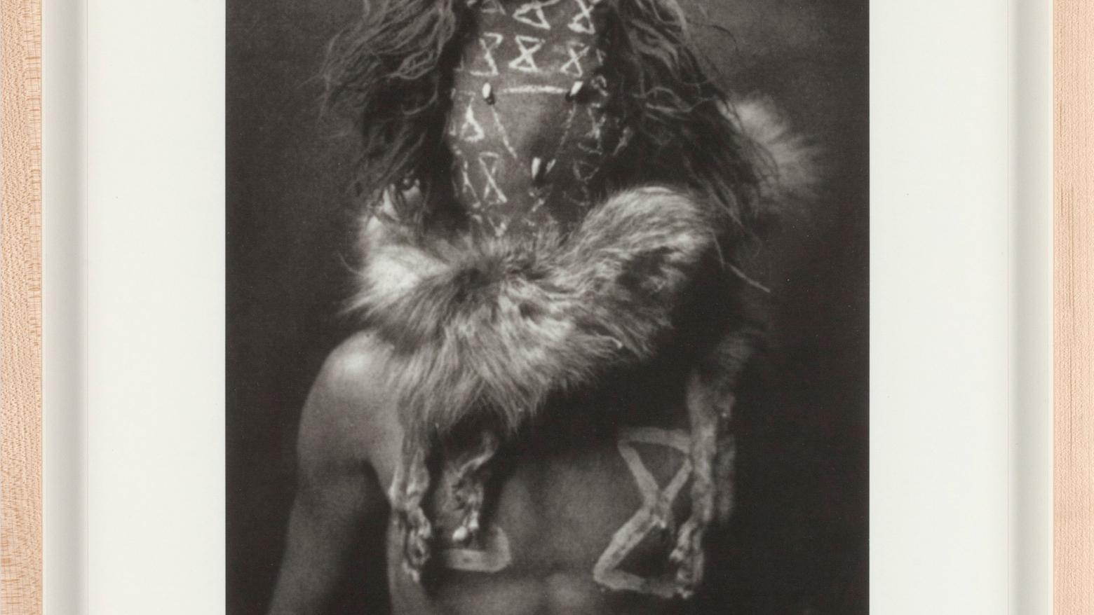 After Edward Curtis: 1–5, by Sherrie Levine, 2005