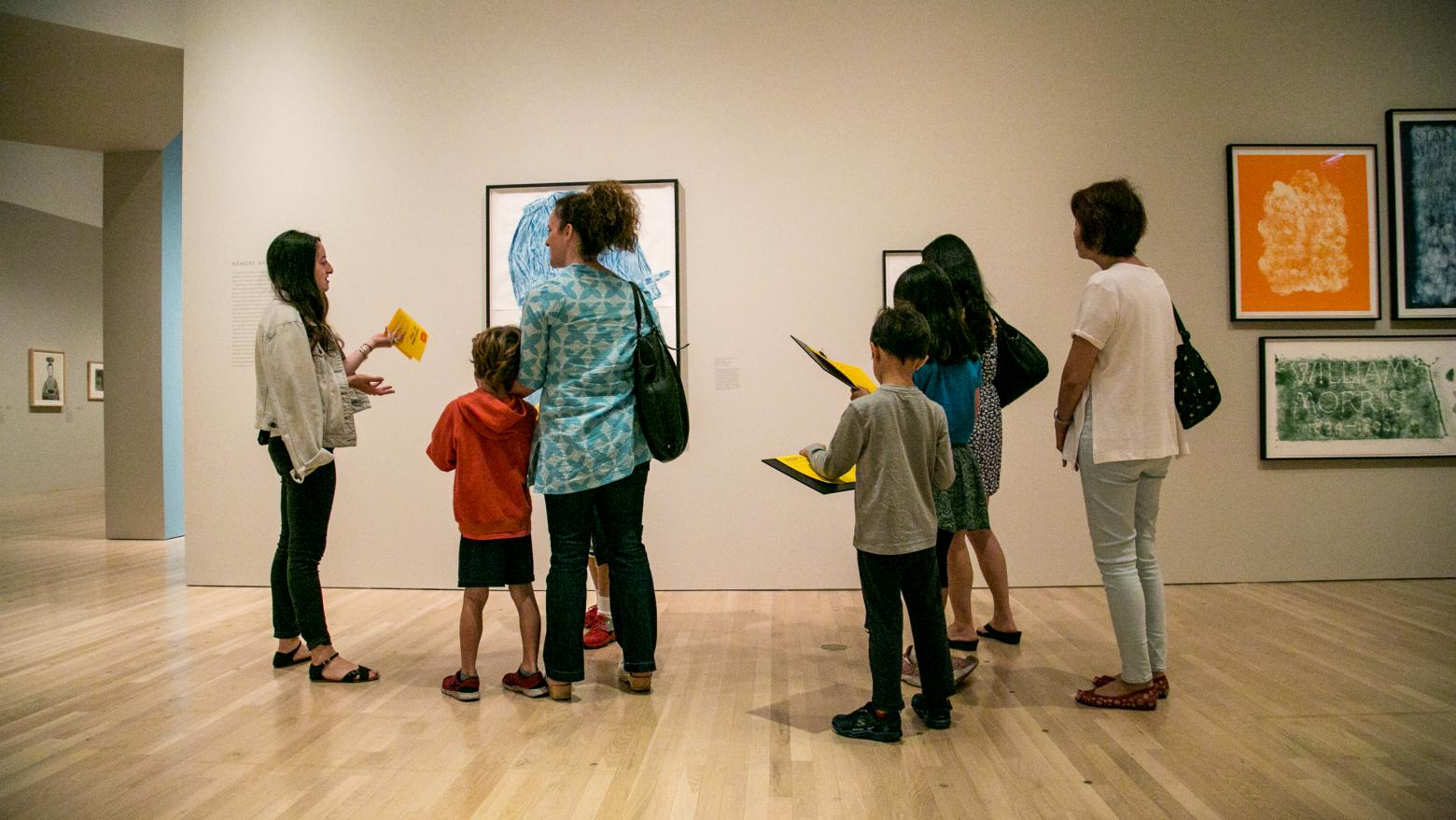 K-12 tours at the Hammer Museum
