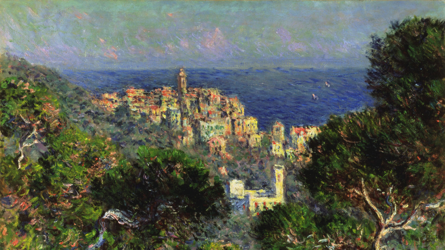 Claude Monet, View of Bordighera, 1884
