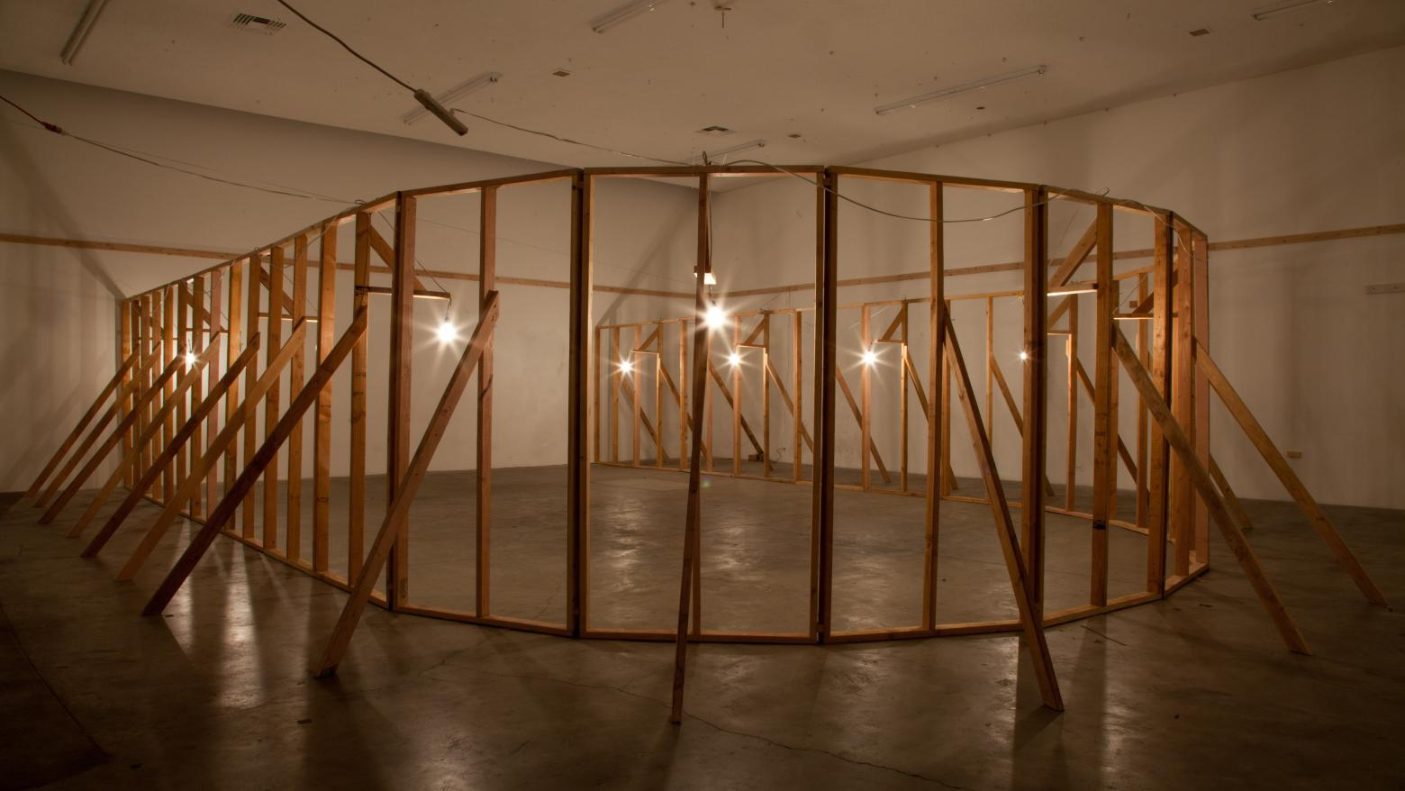 Lauren Davis Fisher, New Structures, New Orientations, 2013.