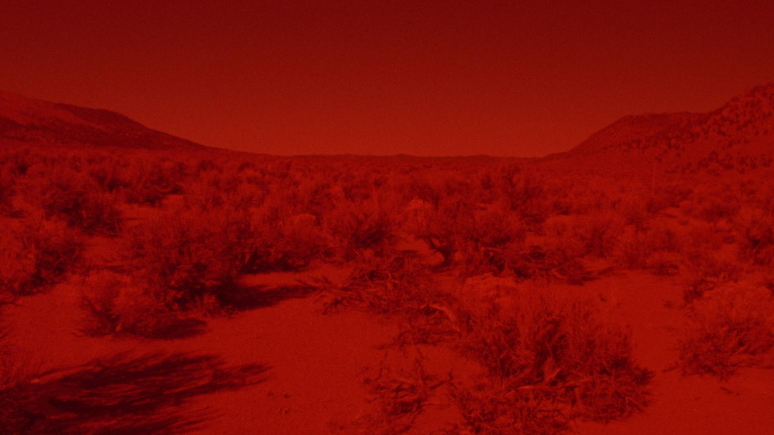 Laida Lertxundi, Sunset Red, 2016. 16mm transferred to HD, color, sound. 4 min. Courtesy of the artist.
