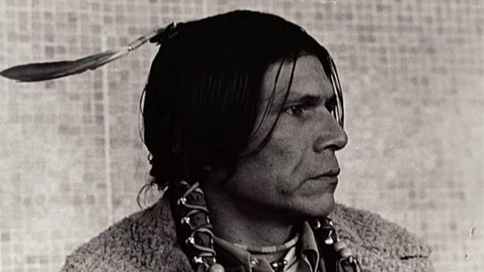 Dennis Banks, co-founder of the American Indian Movement (AIM)