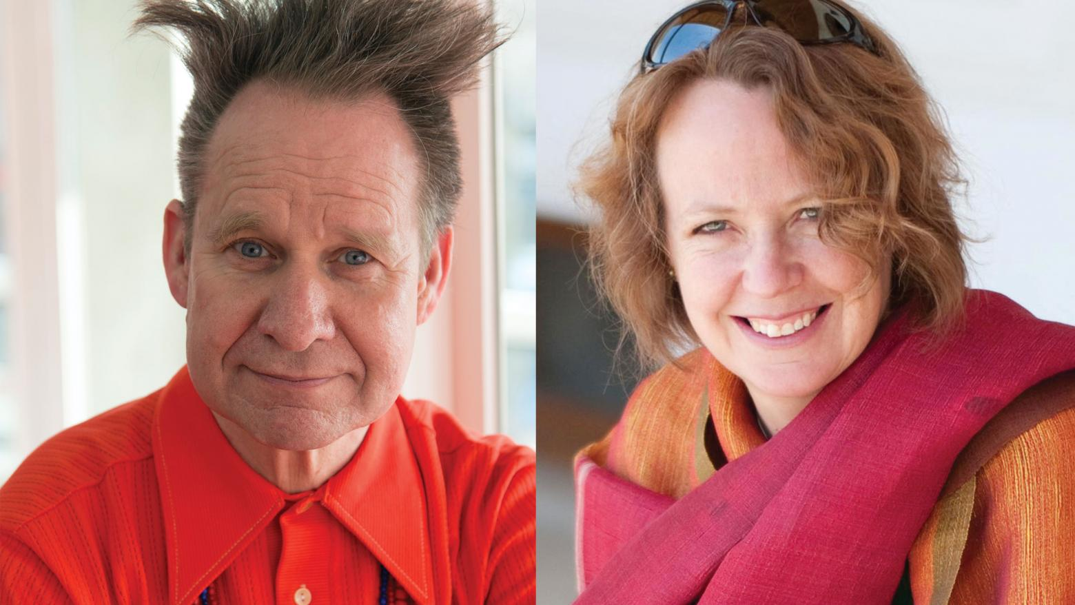 Peter Sellars and Susan Whitfield