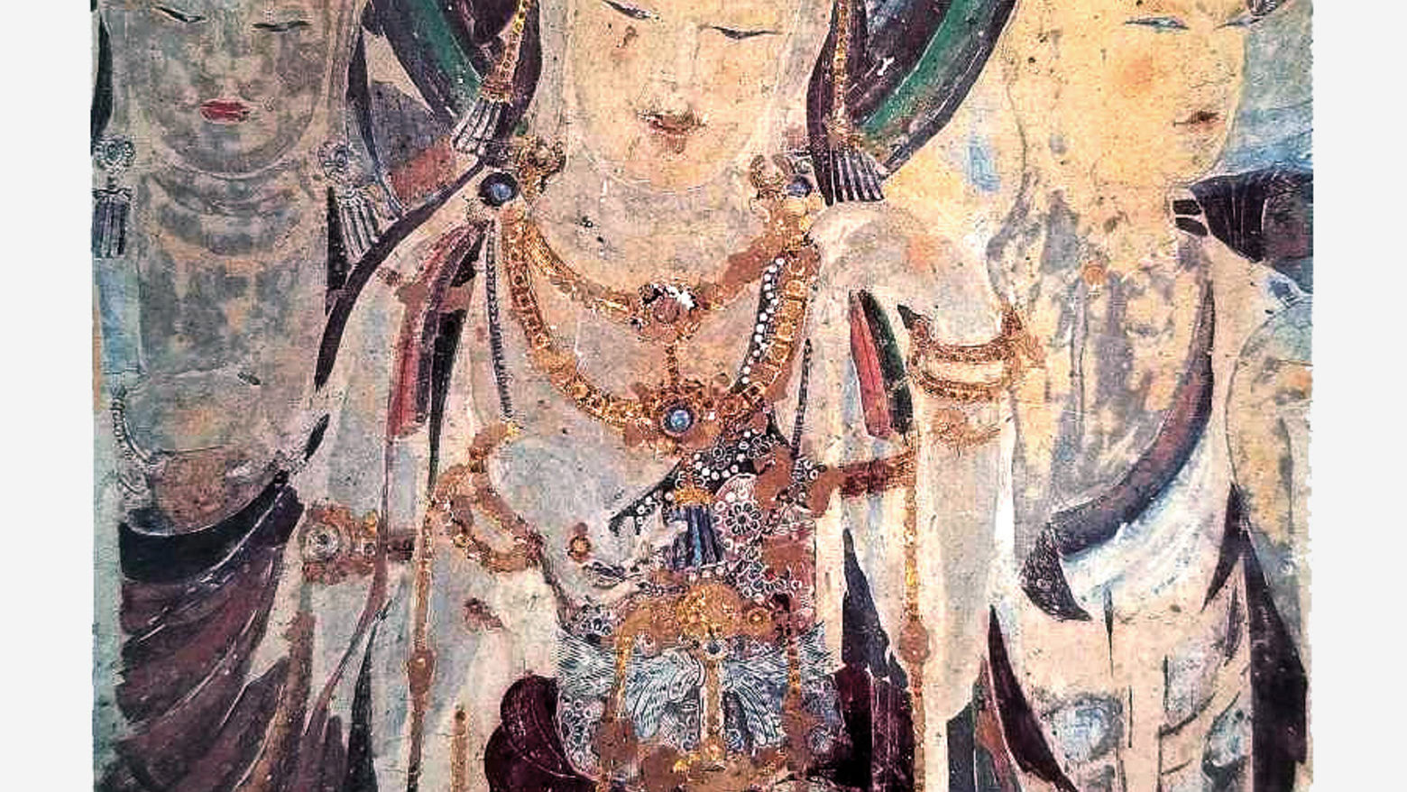 Boddhisattva from cave 57 at Dunhuang, China