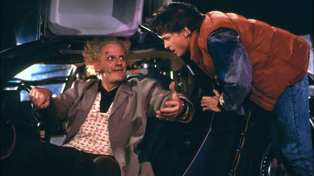 Still from Back to the Future (1985)