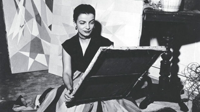 Portrait of Lygia Clark