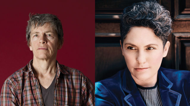 Eileen Myles and Jill Soloway