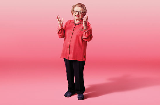 Ask Dr. Ruth promotional poster