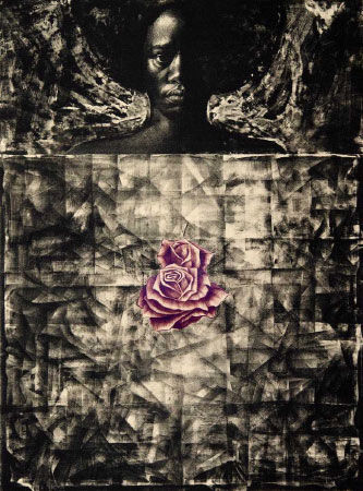 Image: Charles White, Love Letter #1, 1971. The Museum of Modern Art, New York. Purchase. Photo by Ed Glendinning