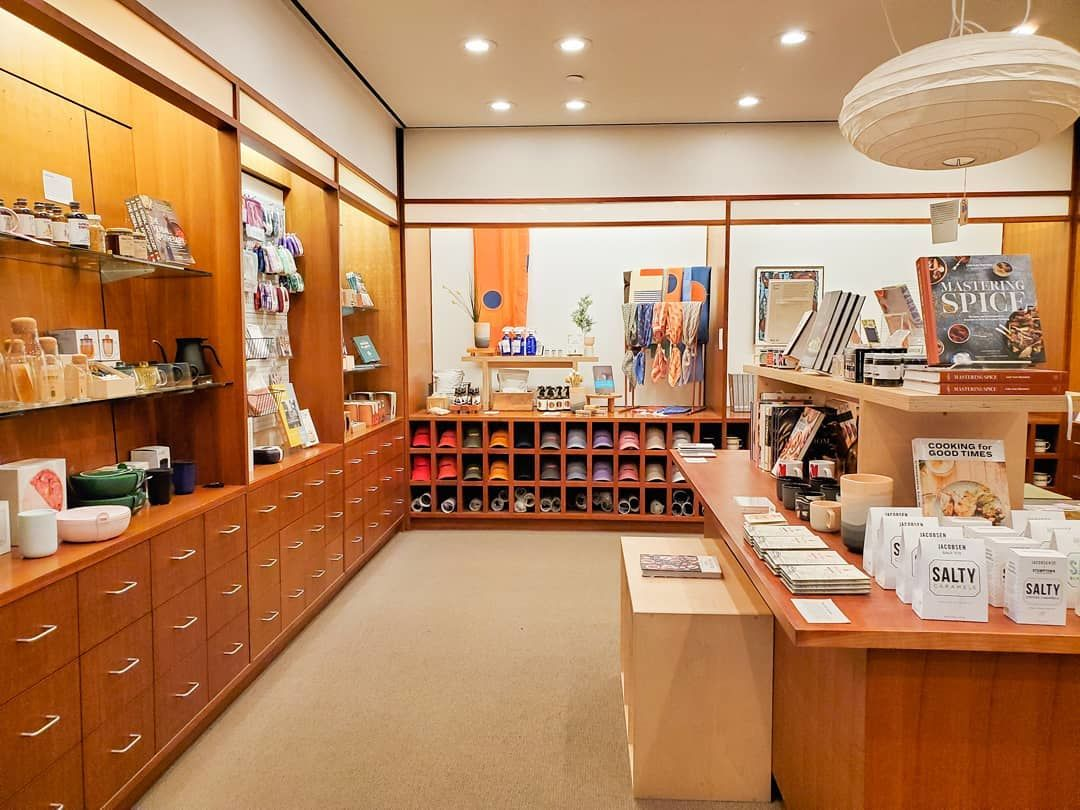 A view of the Hammer Museum store