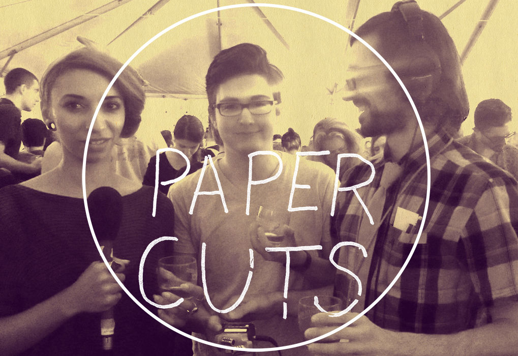 Paper Cuts, NY Art Book Fair 2015 Episode