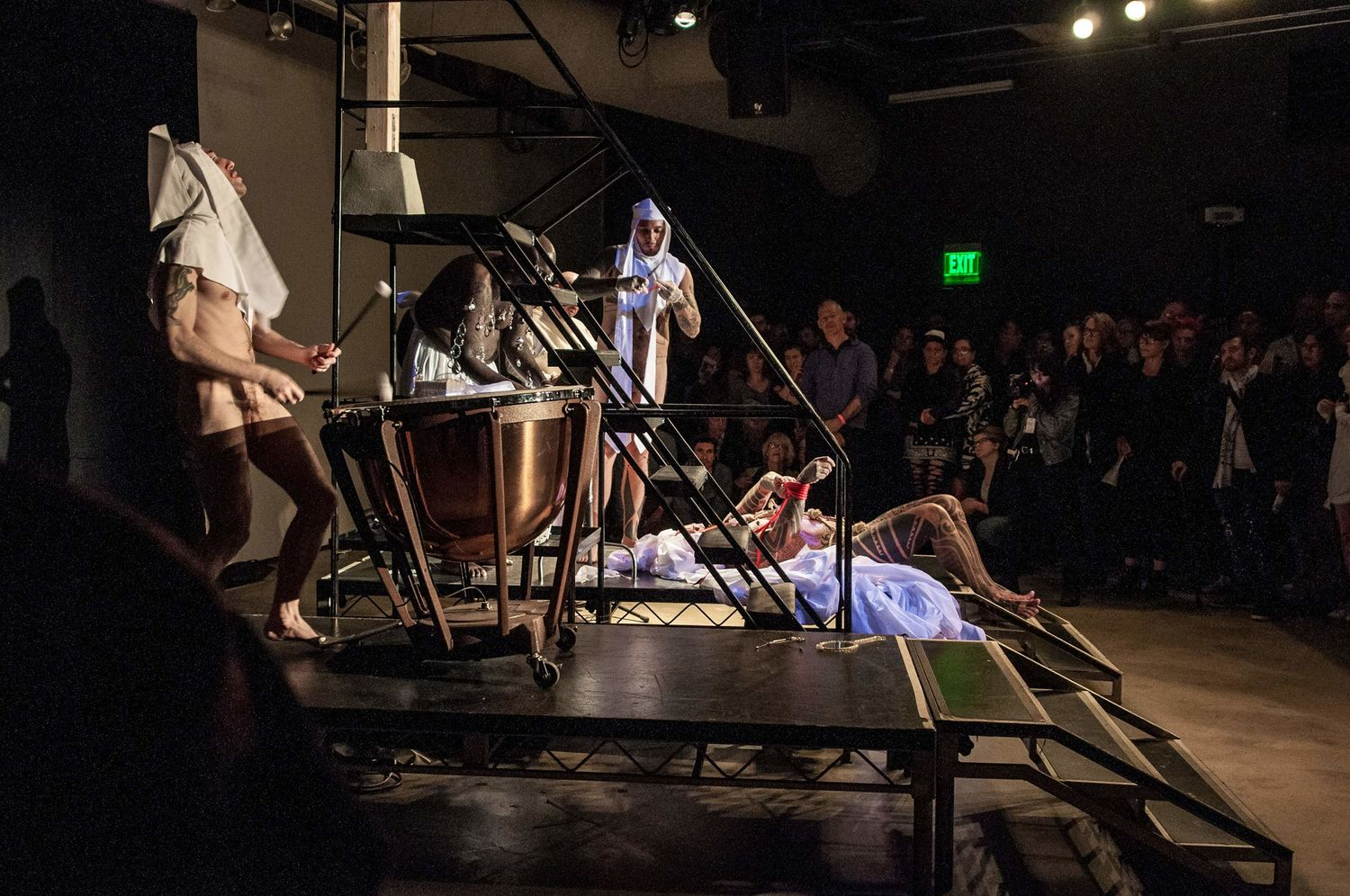 "Performance of ""Sebastiane,"" Hammer Museum, Los Angeles, March 13, 2014"