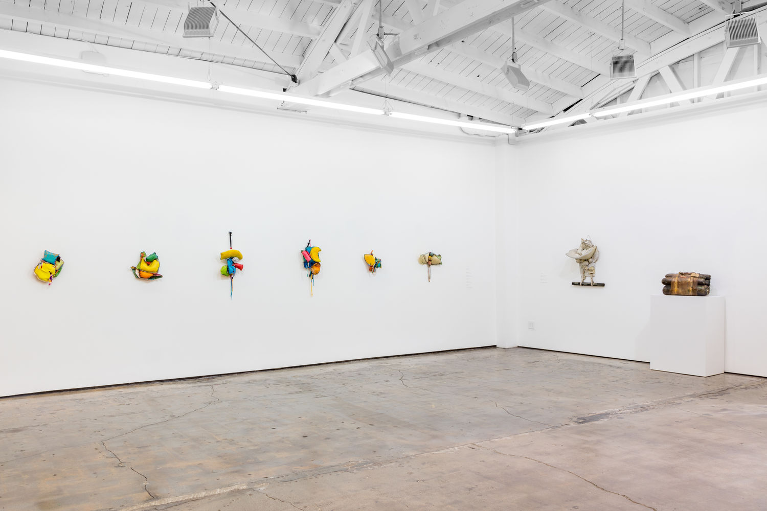 John Outterbridge: Rag Man, installation view, Art + Practice, December 12, 2015–February 27, 2016. Photos: Josh White