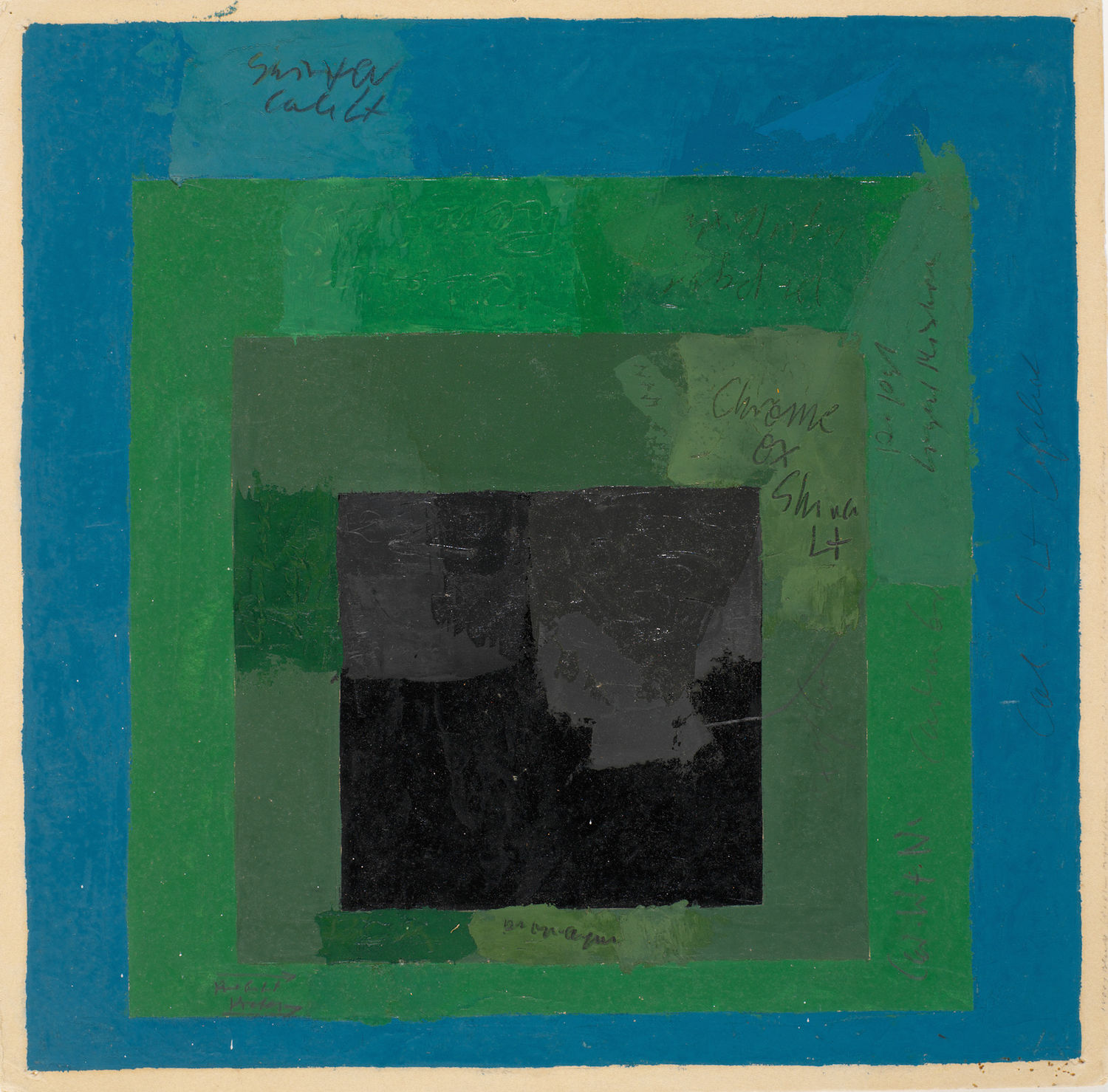 Josef Albers, Color Study for Homage to the Square