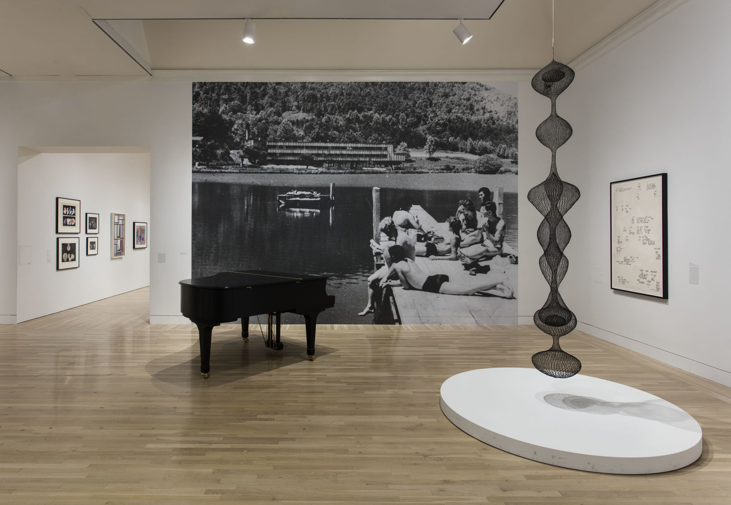 Leap Before You Look: Black Mountain College, 1933-1957, installation view, Hammer Museum, Los Angeles, February 21 – May 15, 2016. Photo: Brian Forrest.