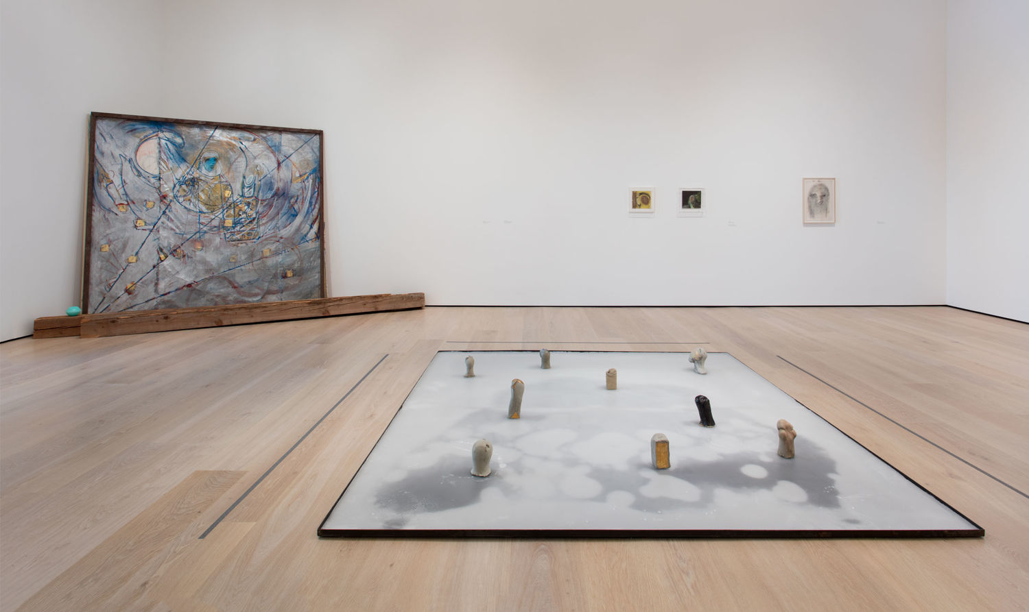 Marisa Merz: The Sky Is a Great Space. Installation view, Hammer Museum, Los Angeles, June 4–August 20, 2017. Photo: Brian Forrest.