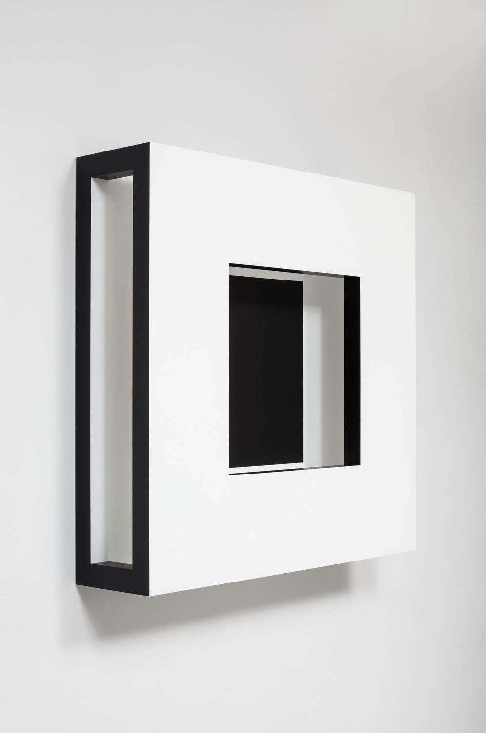 Adrian Piper. Recessed Square. 1967.
