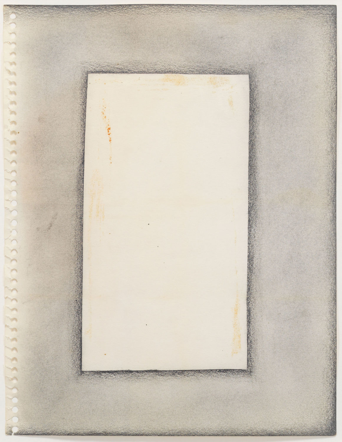 Adrian Piper. Drawings about Paintings and Writings about Words #5. 1967.