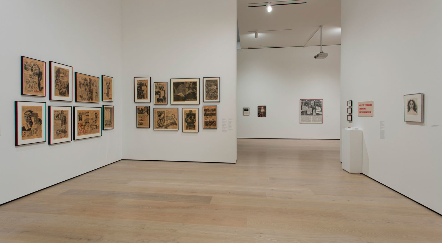 Adrian Piper: Concepts and Intuitions, 1965-2016, installation view, Hammer Museum, Los Angeles, October 7, 2018–January 6, 2019. Photo: Brian Forrest.