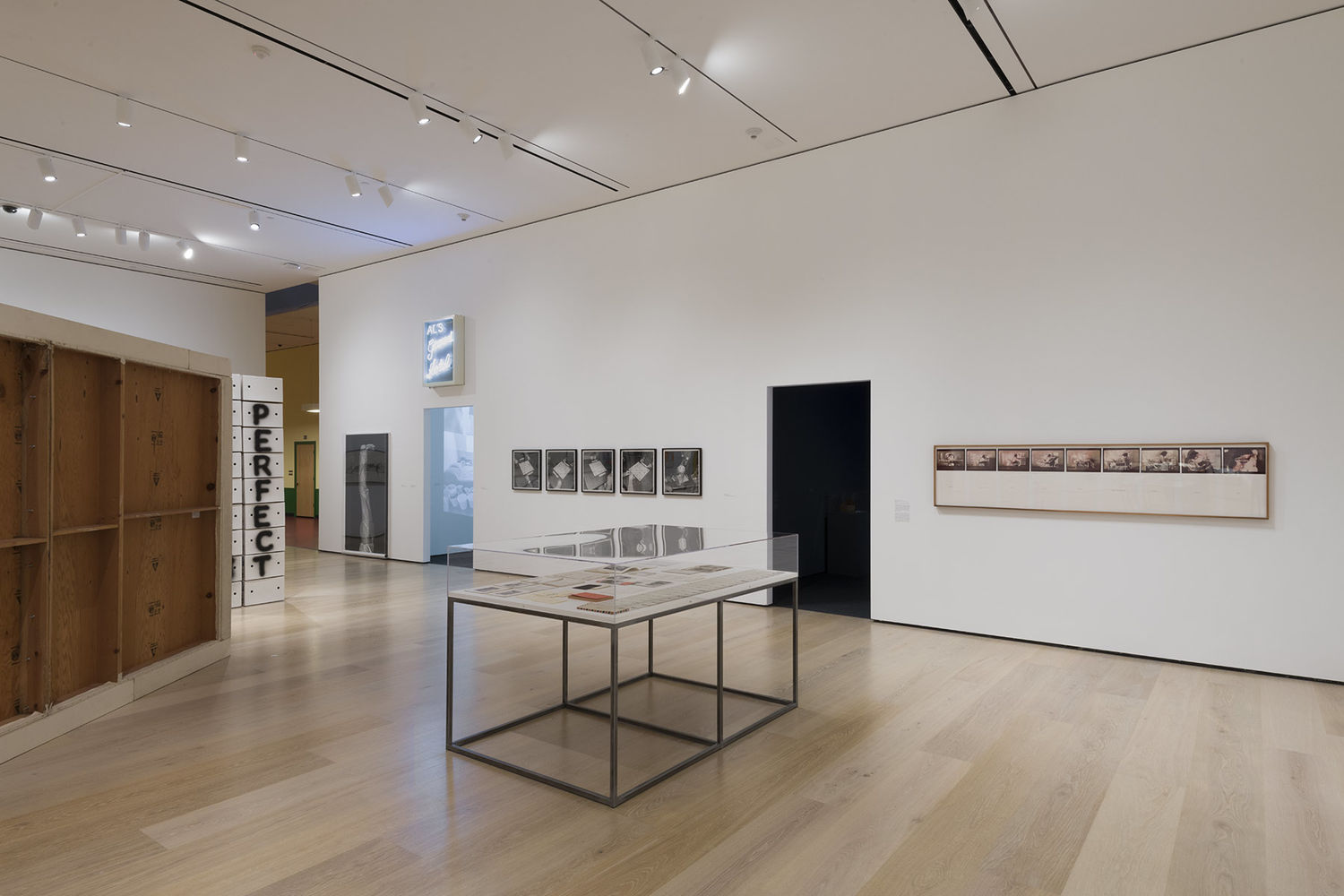 Allen Ruppersberg: Intellectual Property 1968–2018, installation view, Hammer Museum, Los Angeles, February 10–May 12, 2019. Photo: Jeff McLane