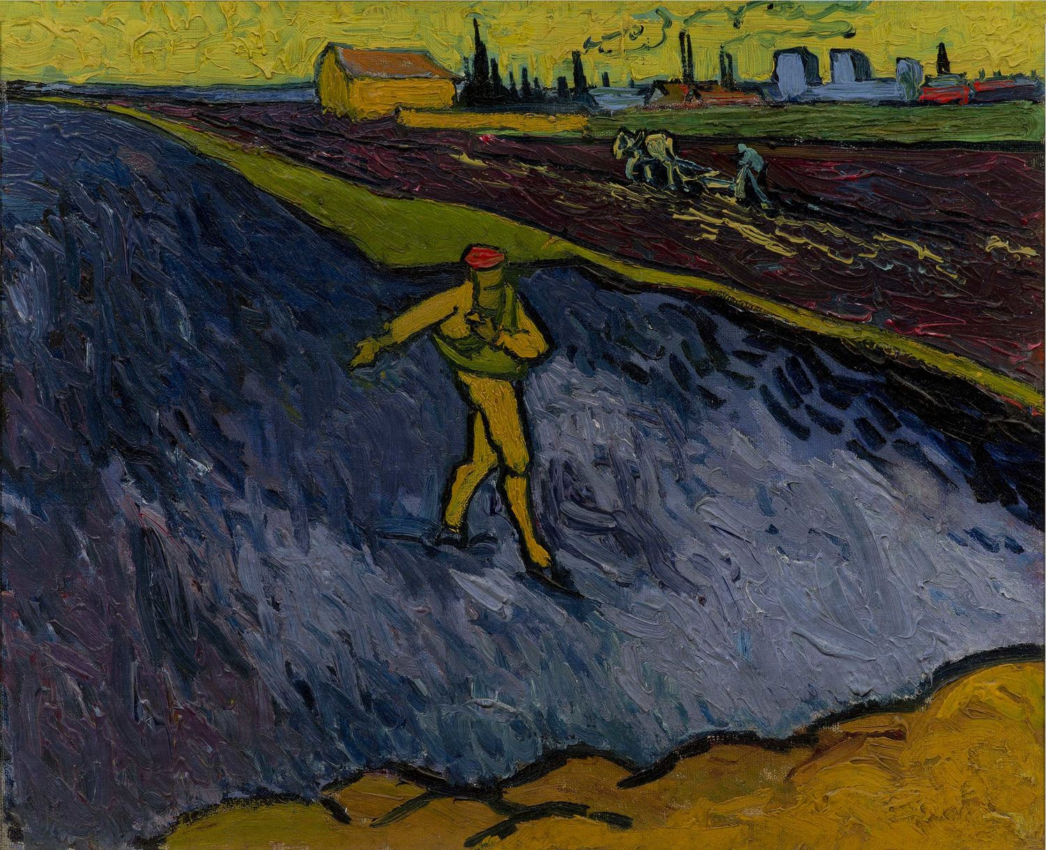 Vincent van Gogh, The Sower, ca 1888. The Armand Hammer Collection, Gift of Dr. Armand Hammer. Hammer Museum, Los Angeles.