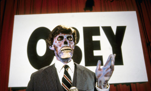 Film still from They Live
