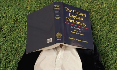 "Ammon Shea, ""Reading the OED: One Man, One Year, 21,730 Pages"""