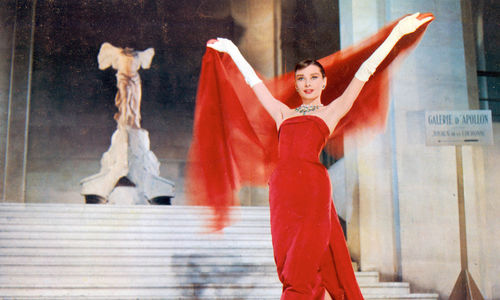 "Still from ""Funny Face"" (1957) Dir. Stanley Donen"