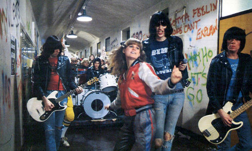 "Still from ""Rock 'N' Roll High School"" (1979) Dir. Allan Arkush"