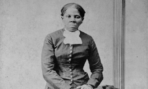 Harriet Tubman, full-length portrait (detail) by Harvey B.  Lindsley, between ca. 1871 and 1876. Library of Congress Prints and Photographs Division